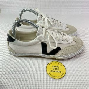 Veja Volley canvas sneakers women's 6 white